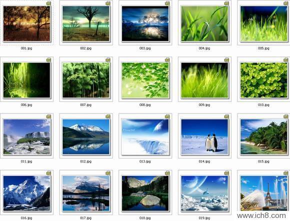 高清的自然风光桌面壁纸 1280*1024 [21P]